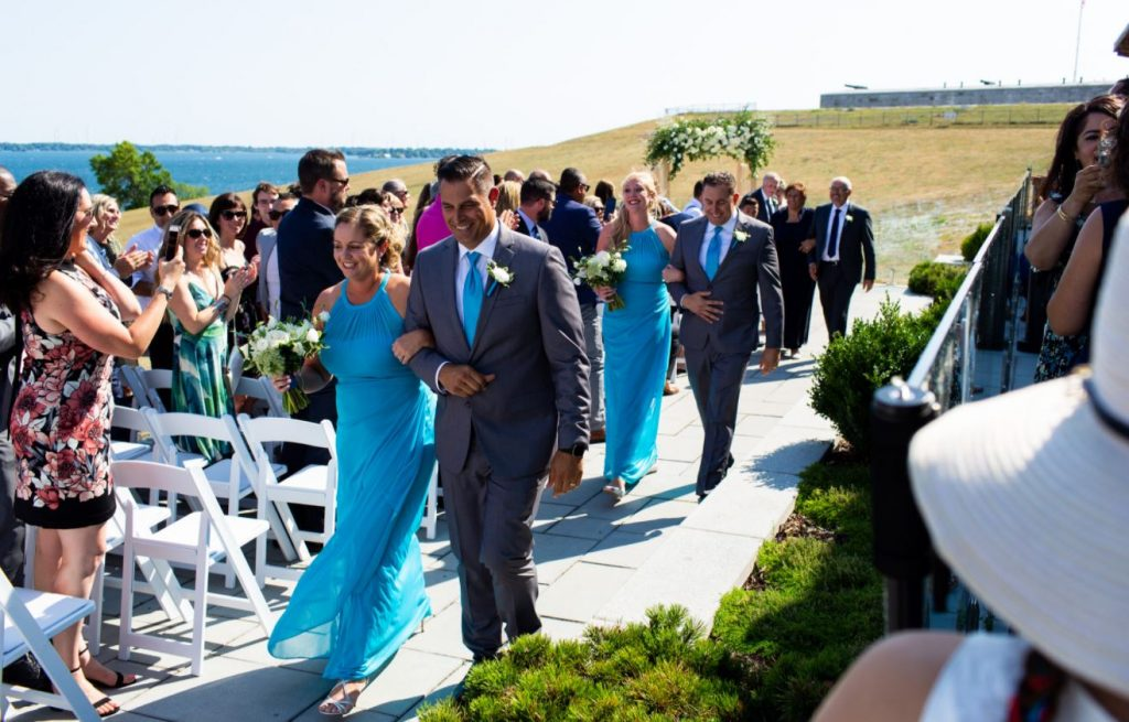 Romantic Wedding at Fort Henry Ontario