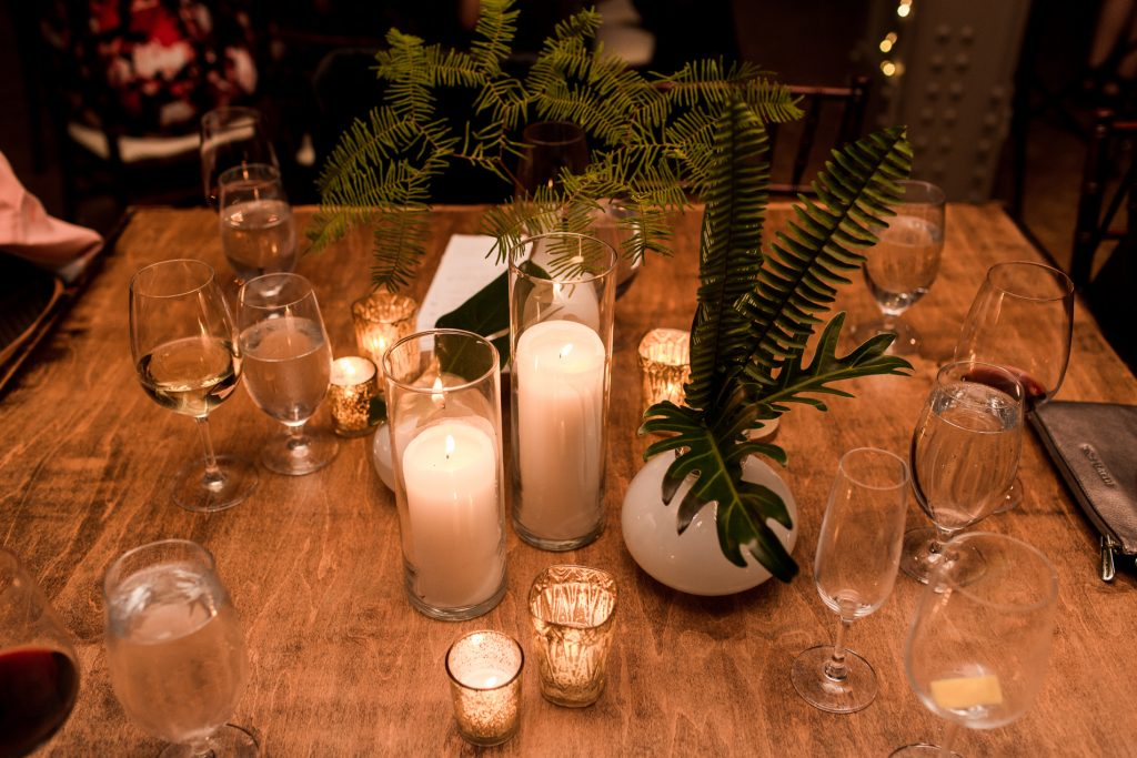 Contemporary Loft Wedding with Pretty Lucite Details