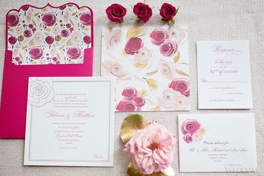 Rose Inspired Wedding