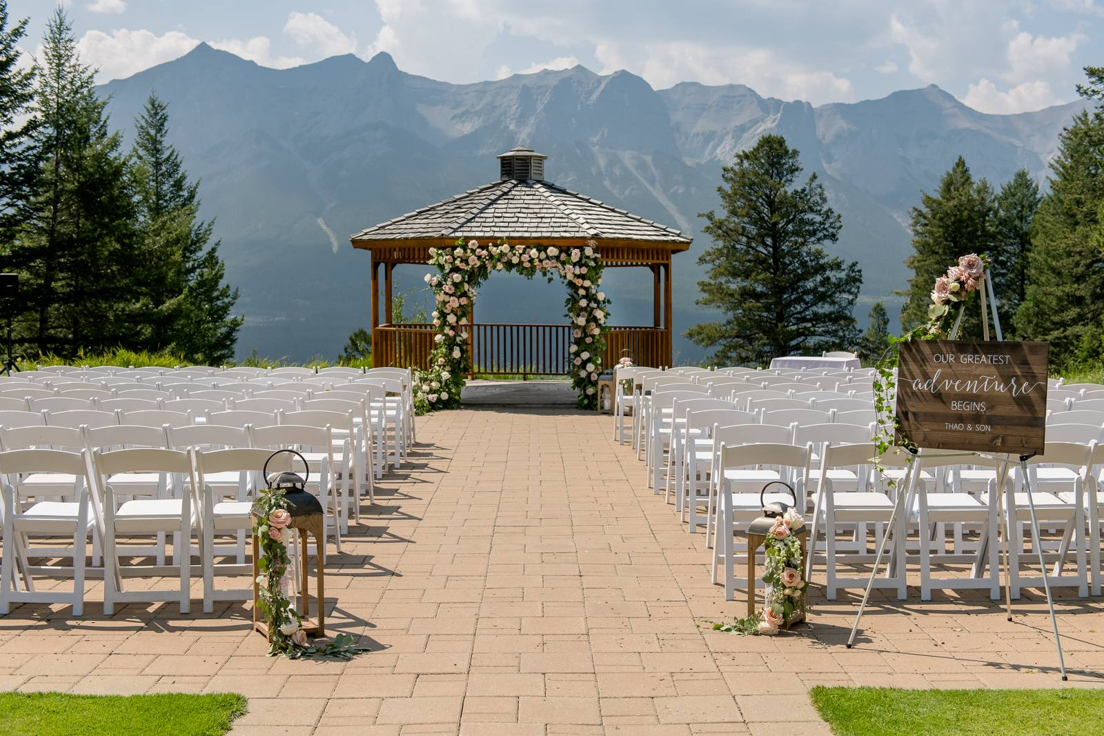 Canmore Wedding with Style