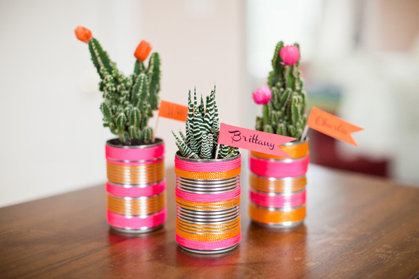 DIY Project: Cactus Place Cards & Favors