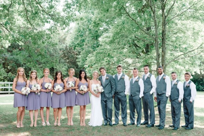 Elegant Lilac Inspired Wedding in Guelph