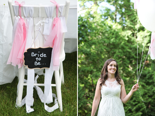 Sweet Outdoor Bridal Shower from With Love Heather