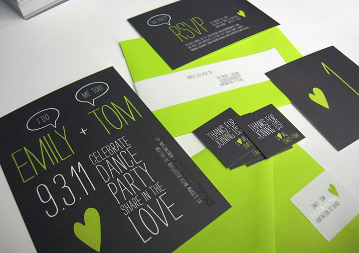 black-and-green-wedding-invitations