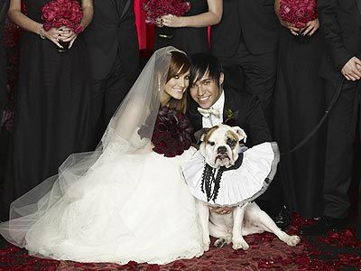 Ashlee Simpson & Pete Wentz Wedding Pictures
