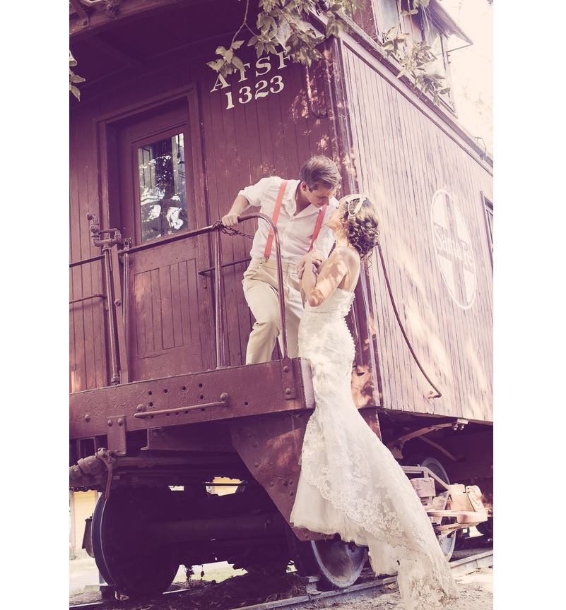 rustic wedding photoshoot