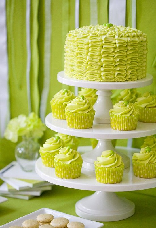 Chartreuse Coral Wedding Inspiration